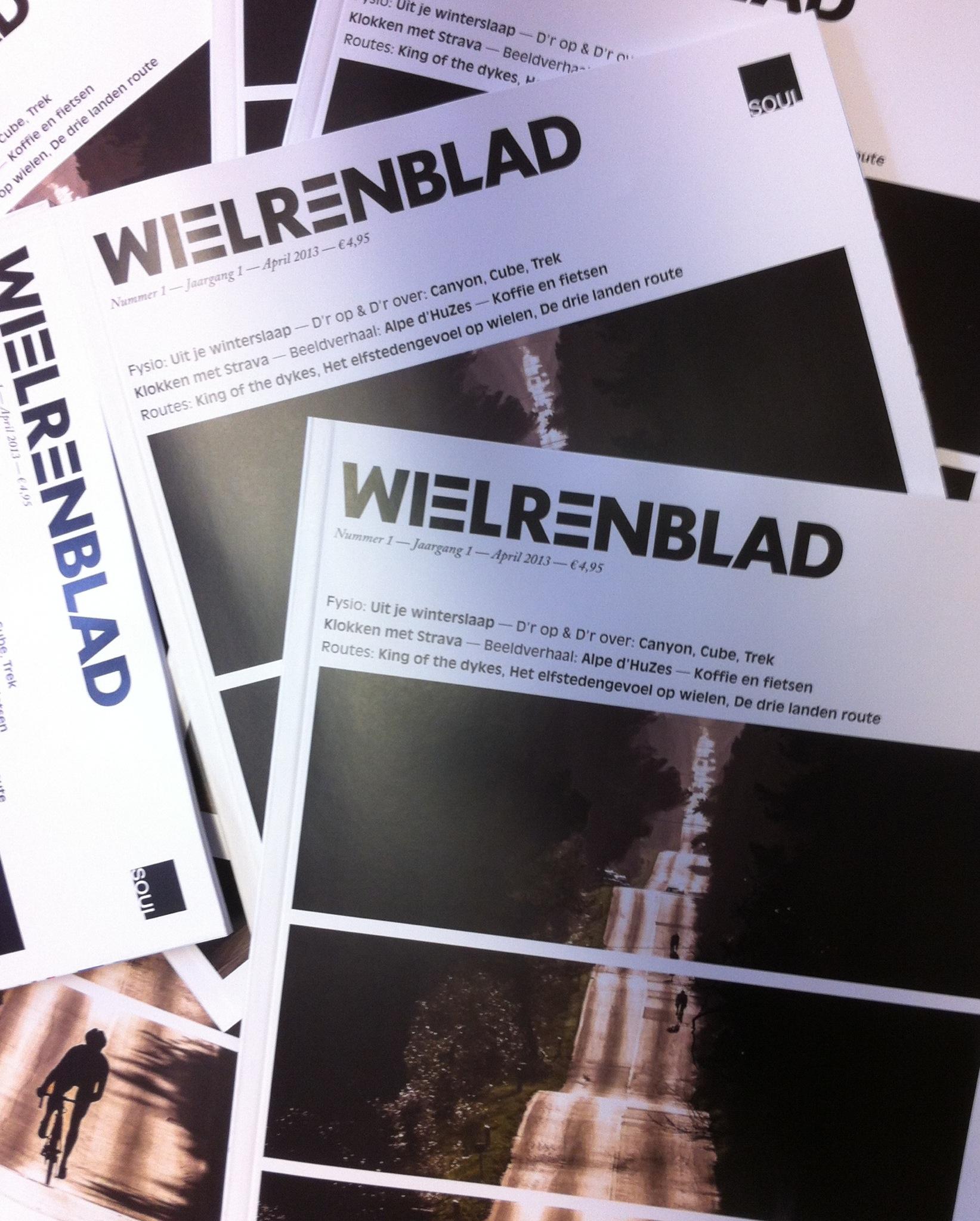 Wielrenblad magazine foto