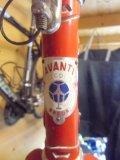 Balhoofdplaatje van Avanti zit op een frame, gekocht bij Aad van Amsterdam in Effen in 1968-1969.