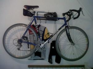 De laatste eigen fiets van Wim Zoon.