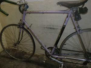 Overzichtsfoto van de fiets van Hein van Breenen. Met dank aan André Stuyfersant.